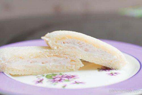 ランチパック ダブルミルク(大阿蘇牛乳入り)【ヤマザキ】皿盛り
