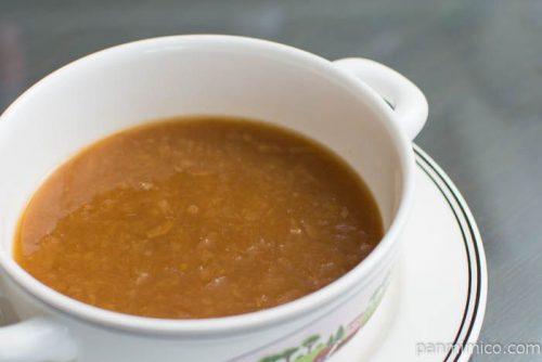 明治 デイリーリッチあめ色たまねぎのこく深いオニオンスープ完成