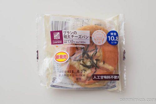 ブランの明太チーズパン【ローソン】