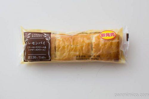 ローソン レモンパイ アーモンドクリーム&レアチーズクリーム