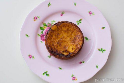 ブリュレ風チーズケーキタルト【ファミリーマート】皿盛り