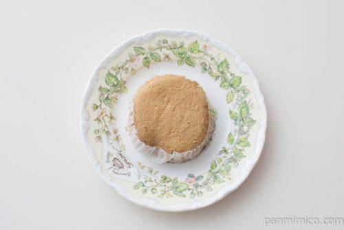 ミルクコーヒー蒸しパン2個入【神戸屋】皿盛り