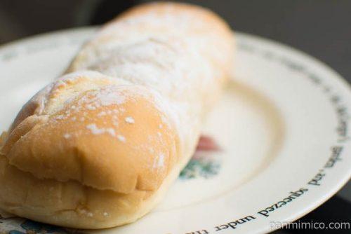 塩キャラメルクリームコッペパン【ヤマザキ】横