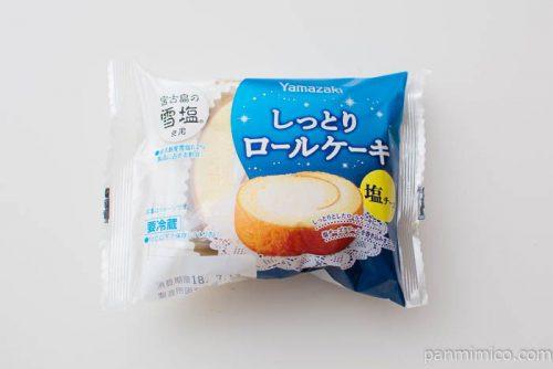 しっとりロールケーキ(塩チーズ)【ヤマザキ】