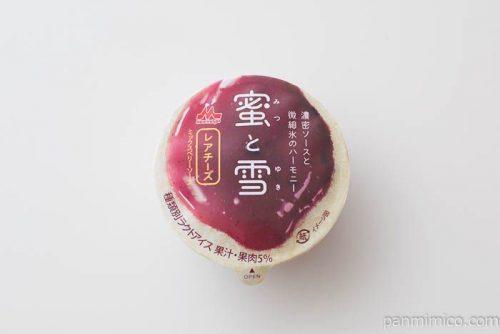 蜜と雪 レアチーズ【森永乳業】パッケージ写真