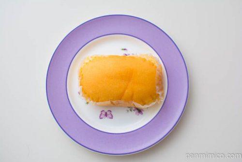赤穂の源使用 濃厚たまご蒸し【第一パン】上から見た図
