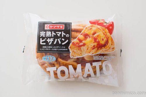 完熟トマトのピザパン【ヤマザキ】パッケージ写真