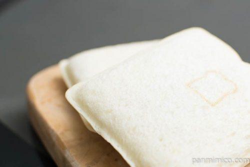 ランチパック(カルビ焼肉とマカロニポテト)【ヤマザキ】上から見た図