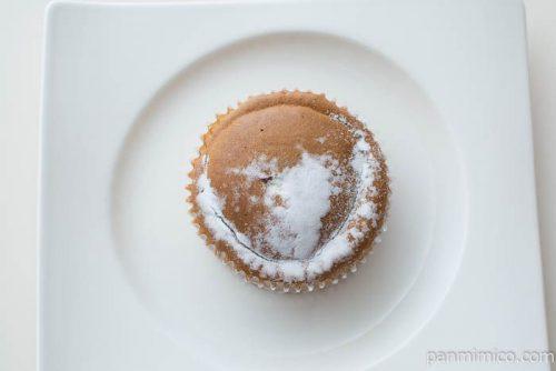 コーヒー香るコーヒークリーム&ホイップパン【ファミマ】上から見た図
