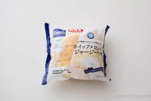 ホイップメロンパン ジャージー牛乳【パスコ】パッケージ写真