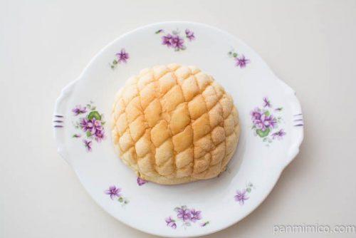 大きくしましてん メロンパン【神戸屋】上から見た図