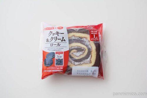 クッキー&クリームロール【ヤマザキ】パッケージ写真