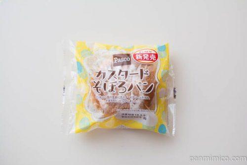カスタードそぼろパン【Pasco】パッケージ写真