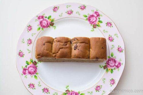 大人の味わい牛乳パン ほうじ茶&あずき【Pasco】上から見た図