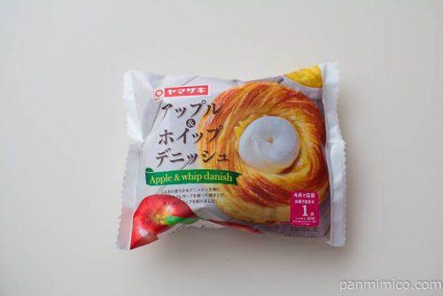 アップル&ホイップデニッシュ【ヤマザキ】パッケージ写真