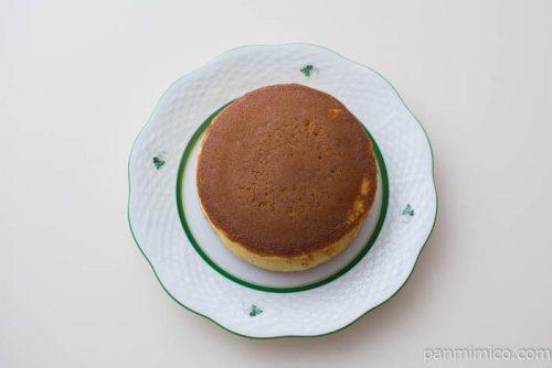 ホットケーキ(マロンあん&ホイップ)【ヤマザキ】上から見た図