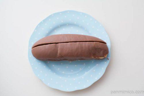 マロンチョコラ【第一パン】上から見た図