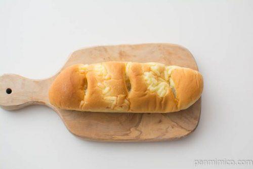 ポテトサラダスティックパン【ヤマザキ】上から見た図