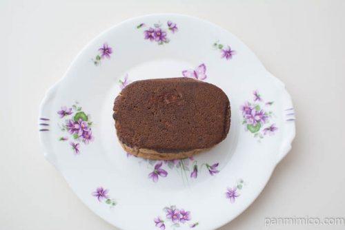 ザクザククッキーパン(チョコ)ホームパイ使用【ヤマザキ】上から見た図