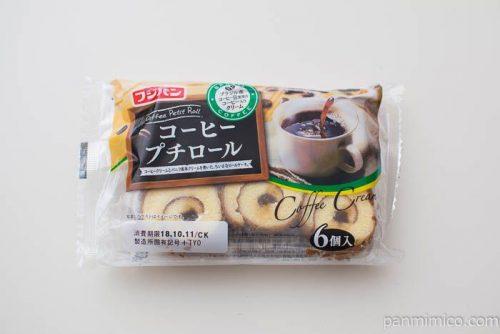 コーヒープチロール(6)【フジパン】パッケージ写真