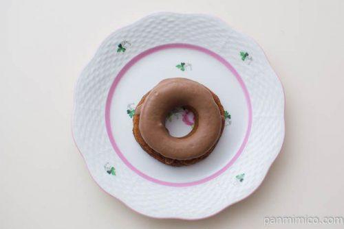ブランの焼きドーナツ(コーヒー)【ローソン】上から見た図