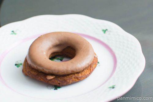 ブランの焼きドーナツ(コーヒー)【ローソン】横から見た図