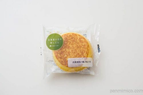 北海道小豆の蒸しどら【タカキベーカリー】パッケージ写真