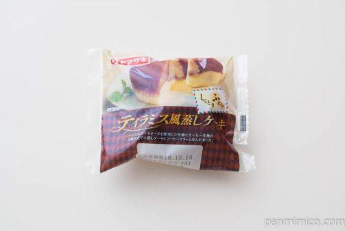ティラミス風蒸しケーキ(コーヒークリーム入り)【ヤマザキ】パッケージ写真