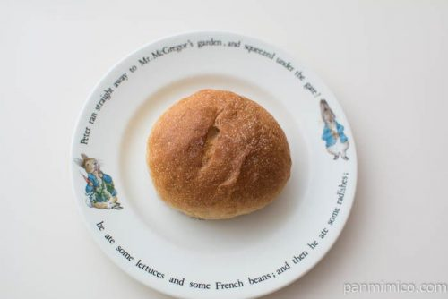 石窯全粒粉&オリーブオイル【タカキベーカリー】上から見た図