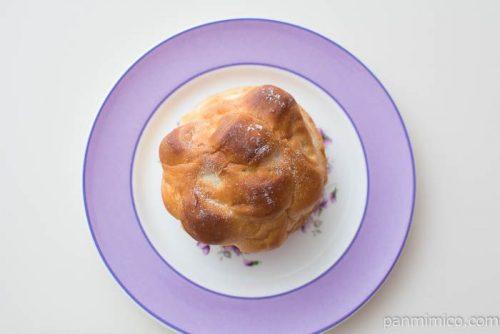北海道ミルクパン【第一パン】上から見た図