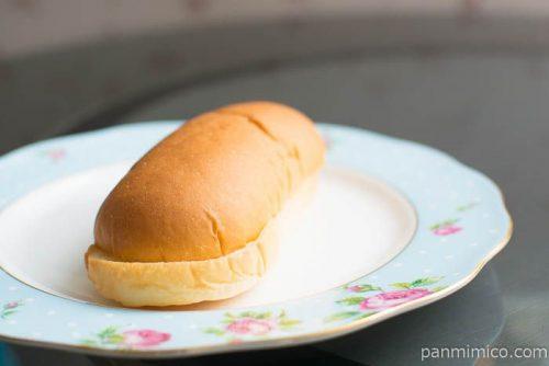 ミルクづくしコッペパン【ファミリーマート】横から見た図