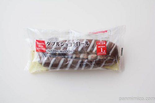 ダブルショコラロール【ヤマザキ】パッケージ写真