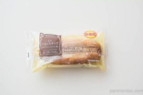 ミニフランスサンド タピオカミルクティー風【ローソン】パッケージ写真
