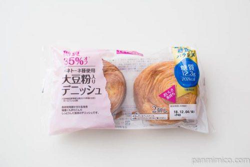 糖質35%オフ 大豆粉入りデニッシュ【トップバリュ】パッケージ写真