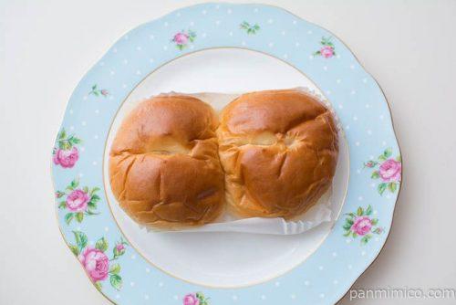 北海道牛乳仕込みのみるくぱん【神戸屋】上から見た図