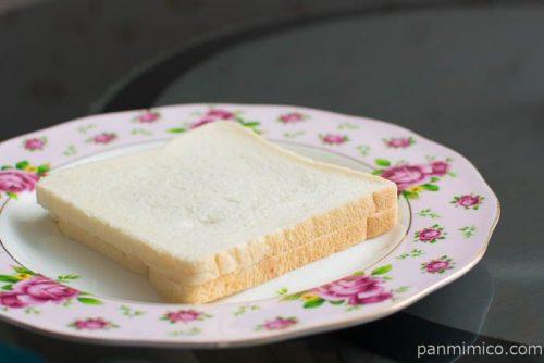 苺ジャム&マーガリンサンド ふんわり食パン使用【ヤマザキ】横から見た図