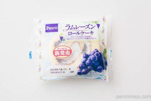 ラムレーズンロールケーキ【Pasco】パッケージ写真