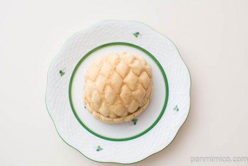 ブランのチョコクリームメロンパン【ローソン】上から見た図