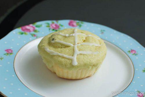 【山口製菓舗】キャベツメロンパン横から見た図