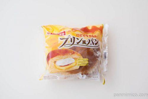 プリン風パン【ヤマザキ】パッケージ写真