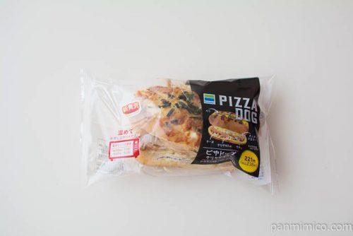 ピザドッグ(テリヤキチキン)【ファミリーマート】パッケージ写真
