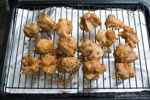 ヘルシオ【シャープ】鶏のから揚げ