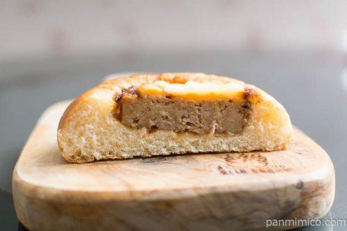 たいめいけん三代目監修チーズハンバーグパン【第一パン】中身はこんな感じ