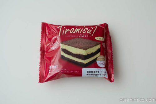 山崎 Tiramisu!(OSTERIA Leb監修)【ローソン】パッケージ写真
