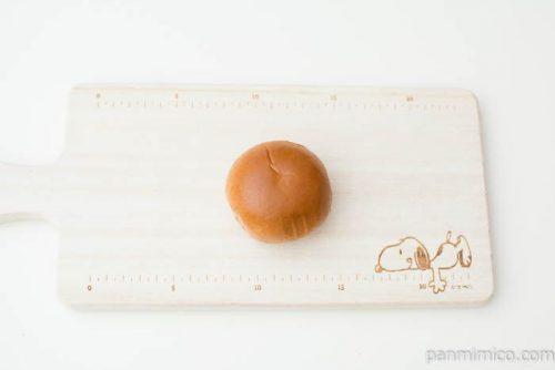 薄皮ティラミス風パン【ヤマザキ】上から見た図