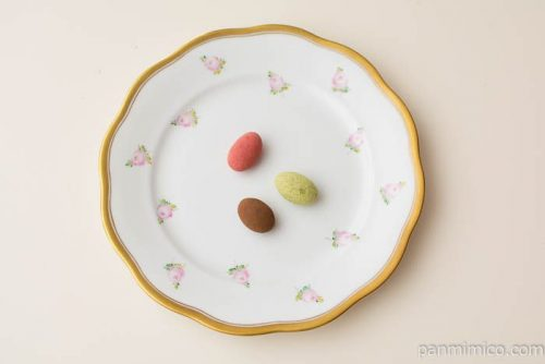 さくらパンダティラミスチョコレート詰合せ【大丸・松坂屋】上から見た図