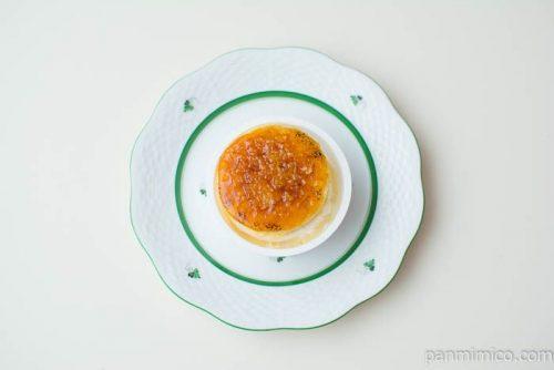 ブリュレチーズケーキ【ファミリーマート】上から見た図