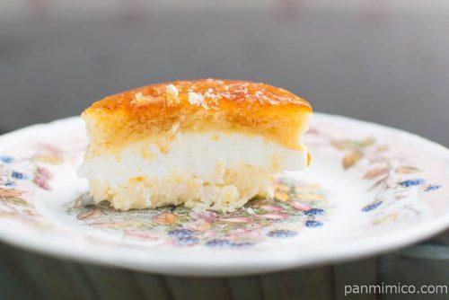 ブリュレチーズケーキ【ファミリーマート】中身はこんな感じ