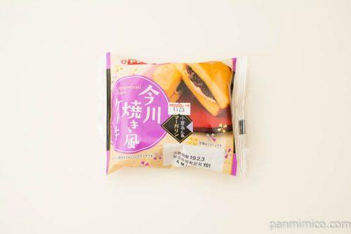 今川焼き風ケーキ(小倉あん&マーガリン)【ヤマザキ】パッケージ写真