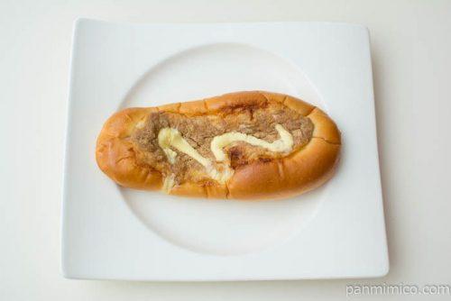 ツナマヨロール 和風白だし使用【第一パン】上から見た図